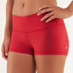 LULULEMON | Boogie Short Denim Red | Sz. 2
